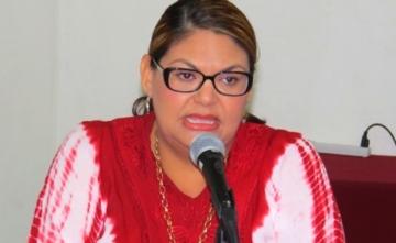 Presidenta del IEE en BCS, Rebeca Barrera Amador